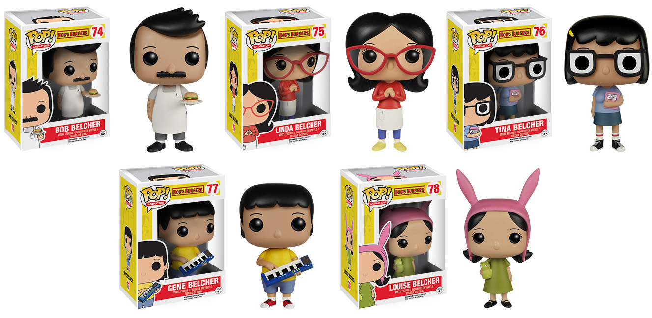 Collecting Toyz Bobs Burgers Pop Vinyl Mao Squishy Burger