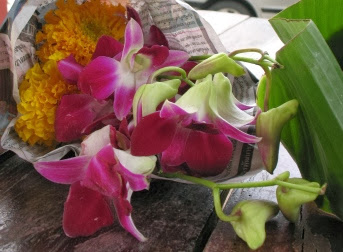 Flowers for our krathong
