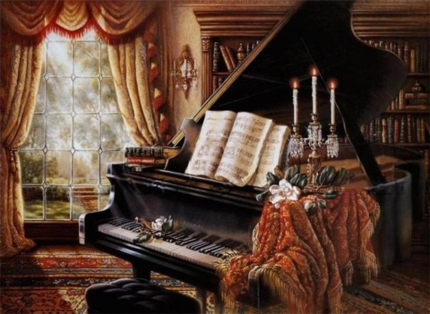 Пианино и рояль фото