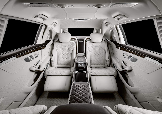 Mercedes-Maybach Pullman - interior