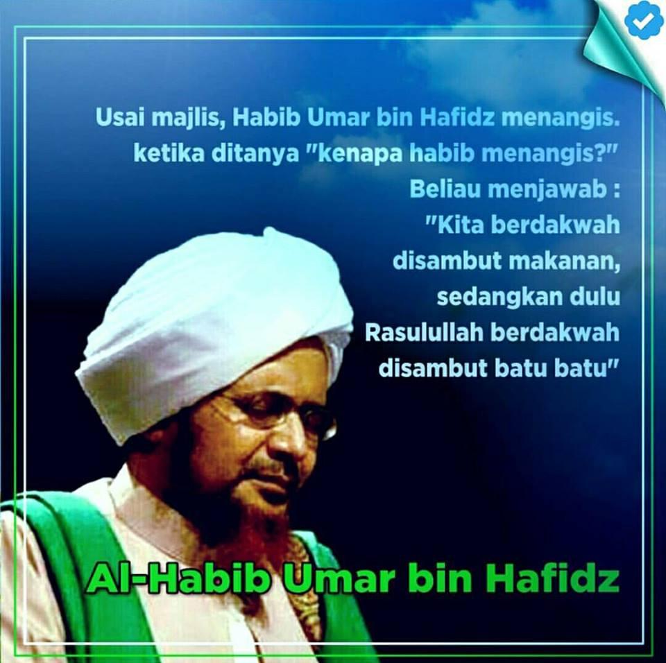 Baca Nasehat Al Habib Umar Bin HafidZ Biar Kita Kenal Rasulullah