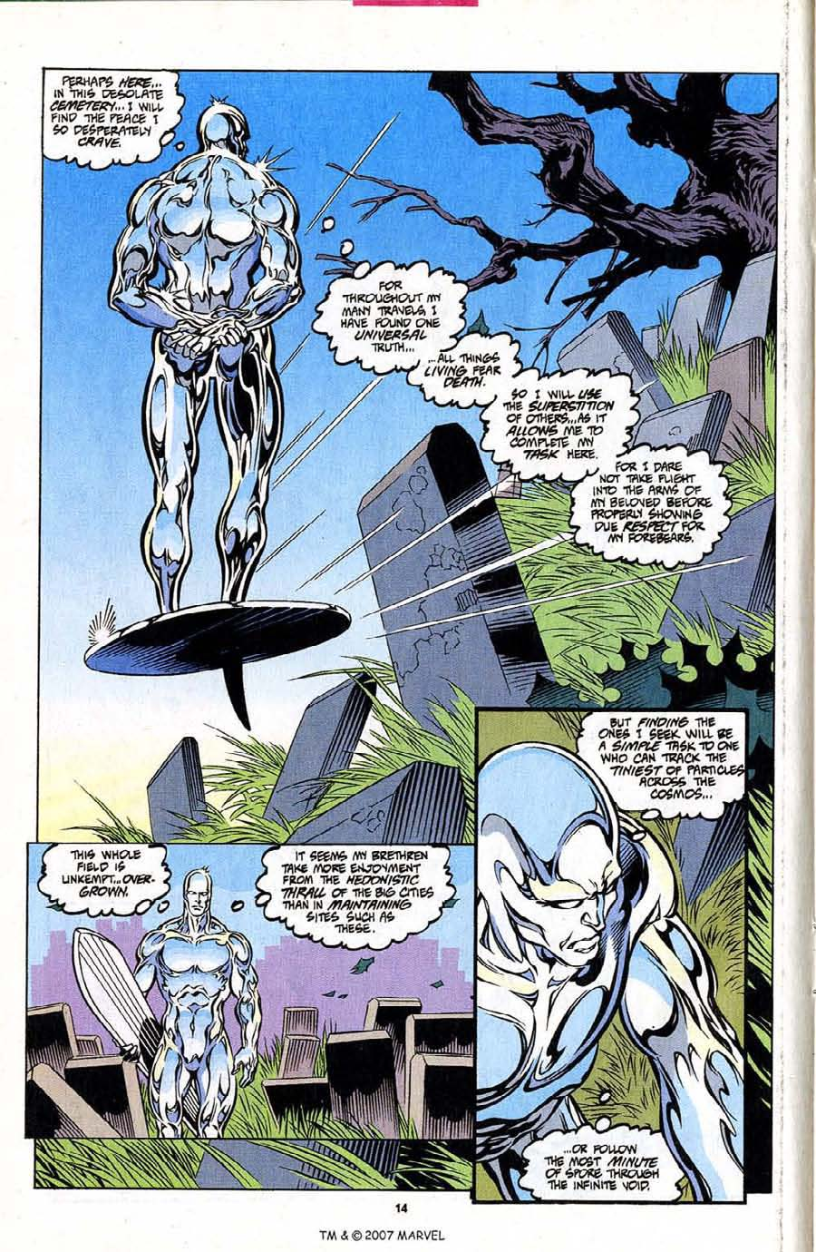 Silver Surfer (1987) Issue #101 #109 - English 16