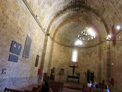 Capilla del castillo de Peñiscola