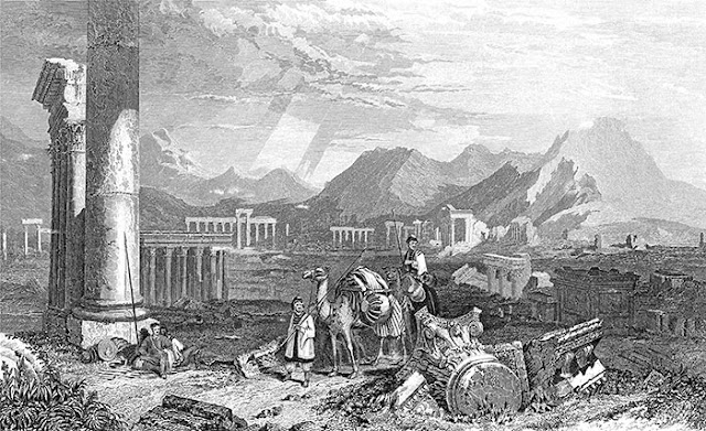 Dessin Palmyre, Stranfield 1840