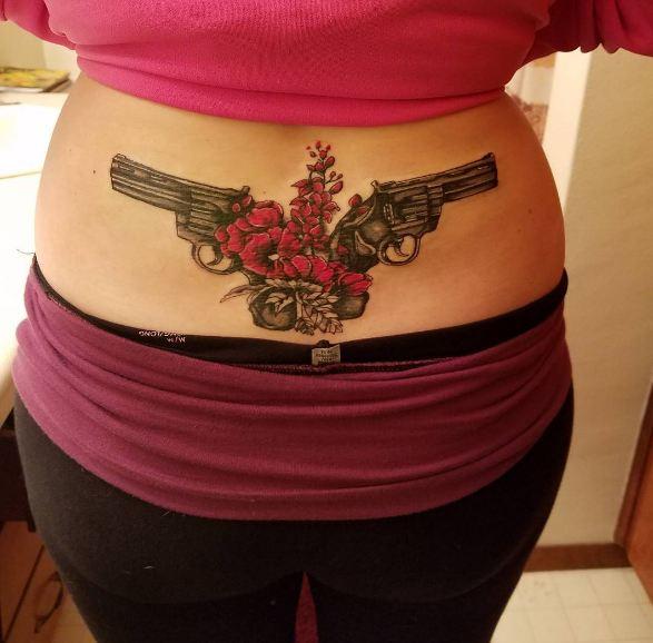 Mytattoolandcom Lower Back Tattoo Desings