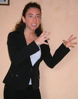 Silvana Calabrese adirata senza trucco