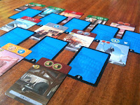 Age 2 Card Stack in 7 Wonders: Duel the Card Game