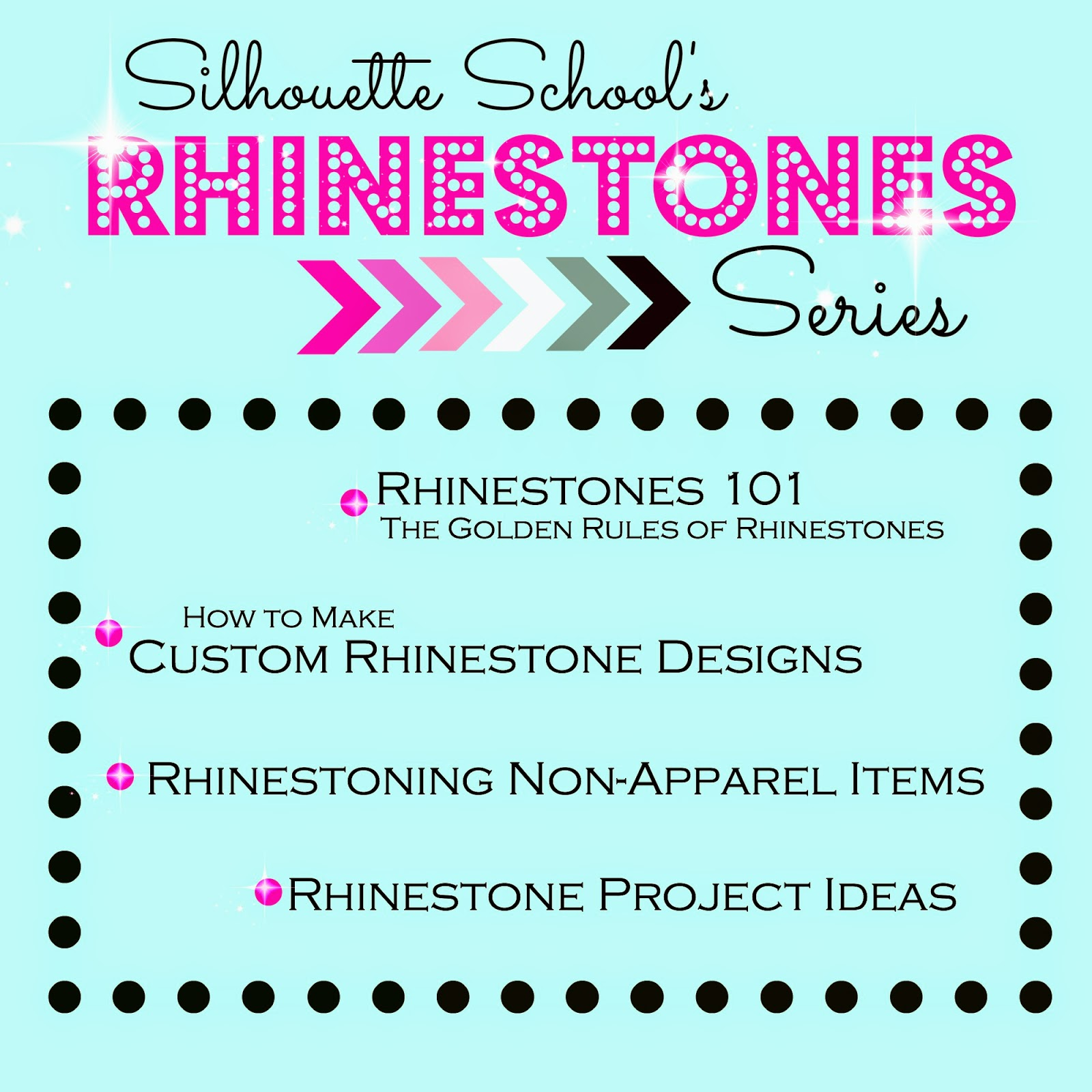 Rhinestone, Silhouette, Beginner, 101, tutorial, designer edition not needed