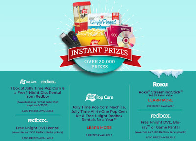 Redbox Spin To Win