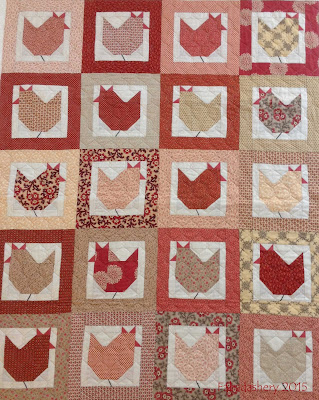 Hen Party Quilt - Quilt Room Pattern