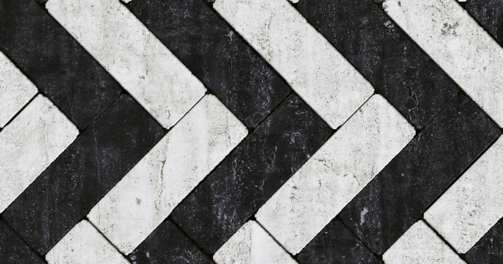 High Resolution Seamless Textures Marble Black White Tile Pattern Texture