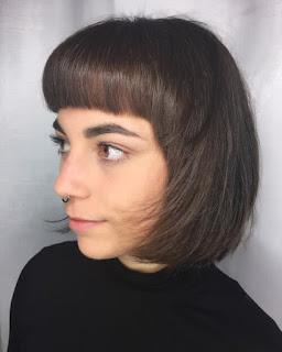 Modern Flair Medium Bob Hairstyle
