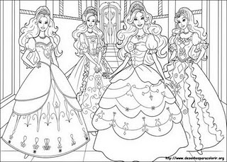 Barbie Girl News: Imagens para colorir