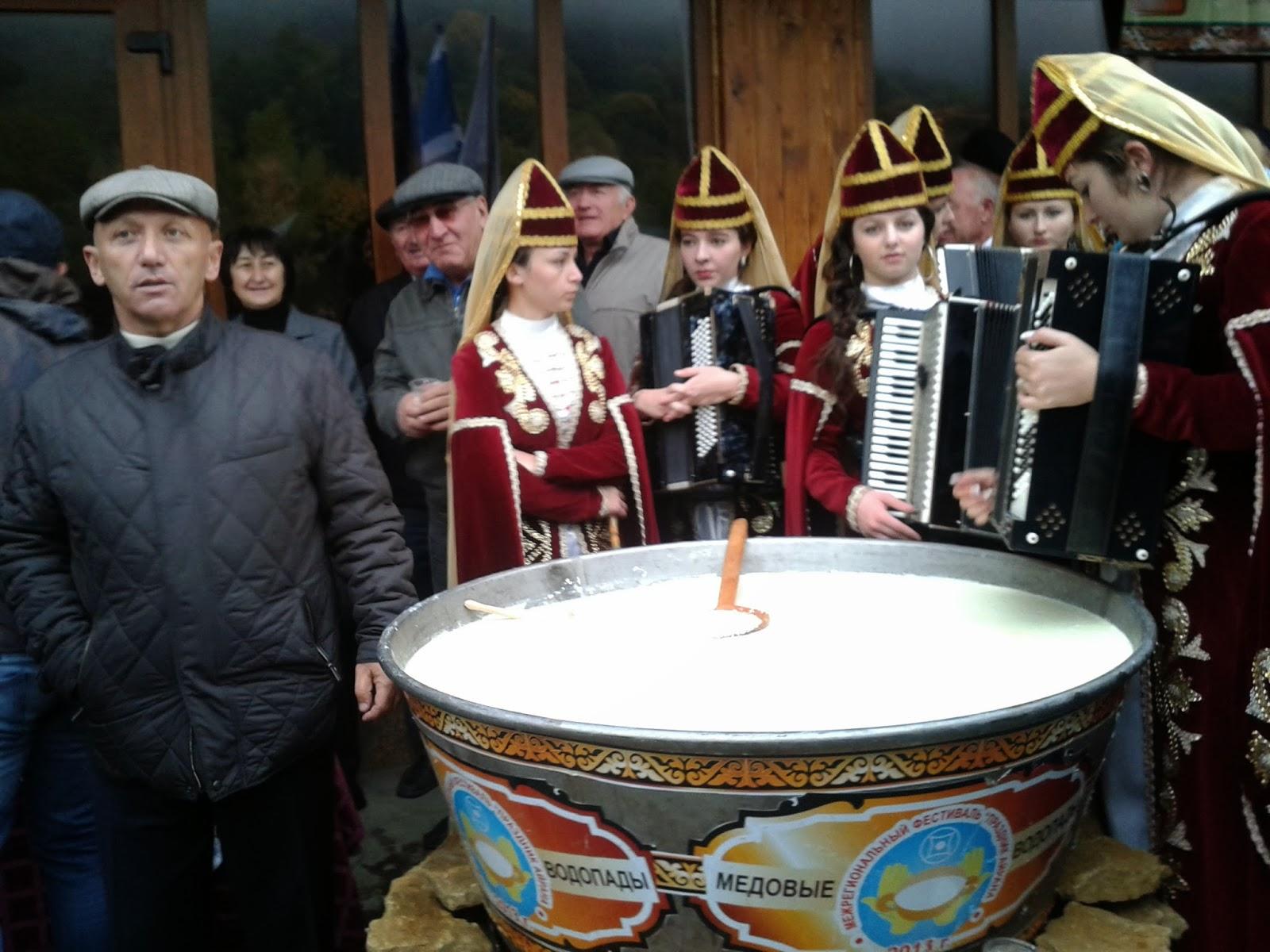 праздник айрана, карачаевская кухня, балкарская кухня