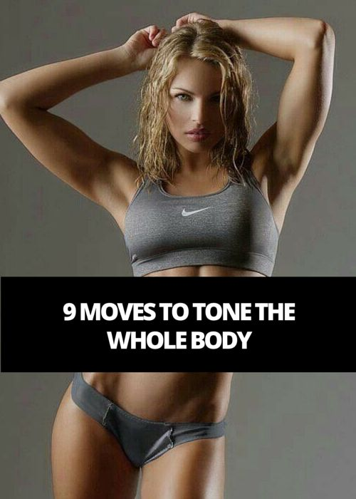 9 Moves To Tone Whole Body