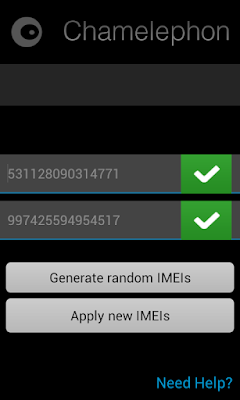 change android marshmallows imei