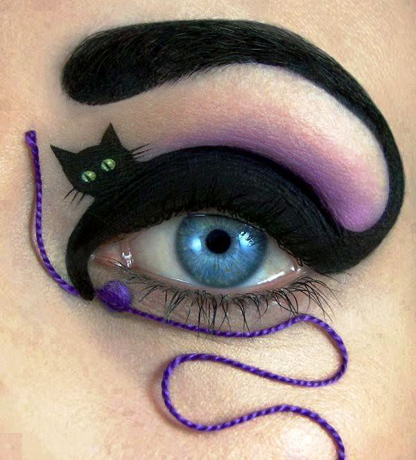 Happy Halloween Day: 30 Halloween Makeup Ideas For Eyes