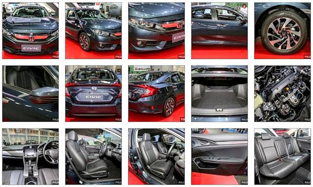 Harga & Spesifikasi Honda Civic Baru 2016