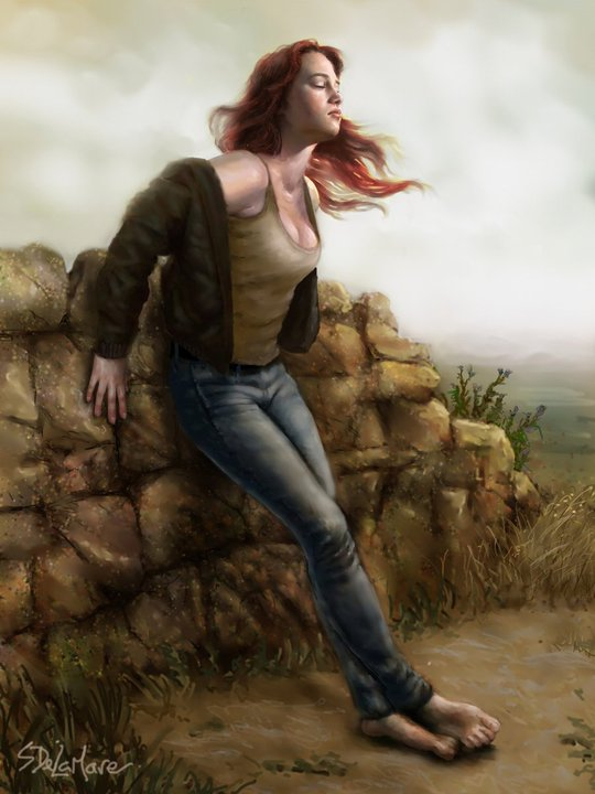 Steve De La Mare | British Digital Fantasy painter