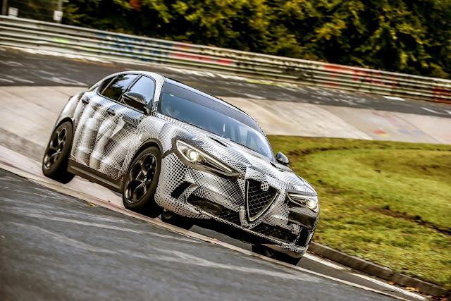Alfa Romeo Stevio Quadrifoglio