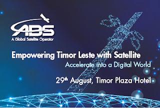 Memberdayakan Timor Leste dengan Satelit persebahan ABS