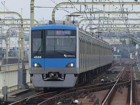 【ダイヤ改正で増発!】小田急電鉄 急行 新松田行き8 4000形