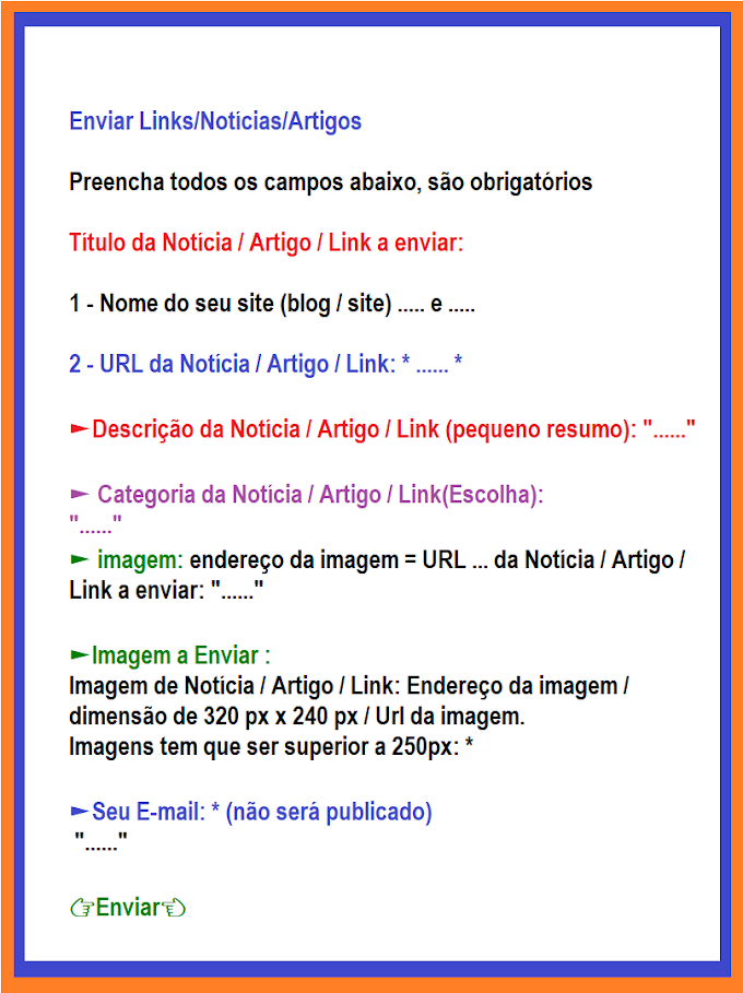 Enviar Links/Notícias...edihitt