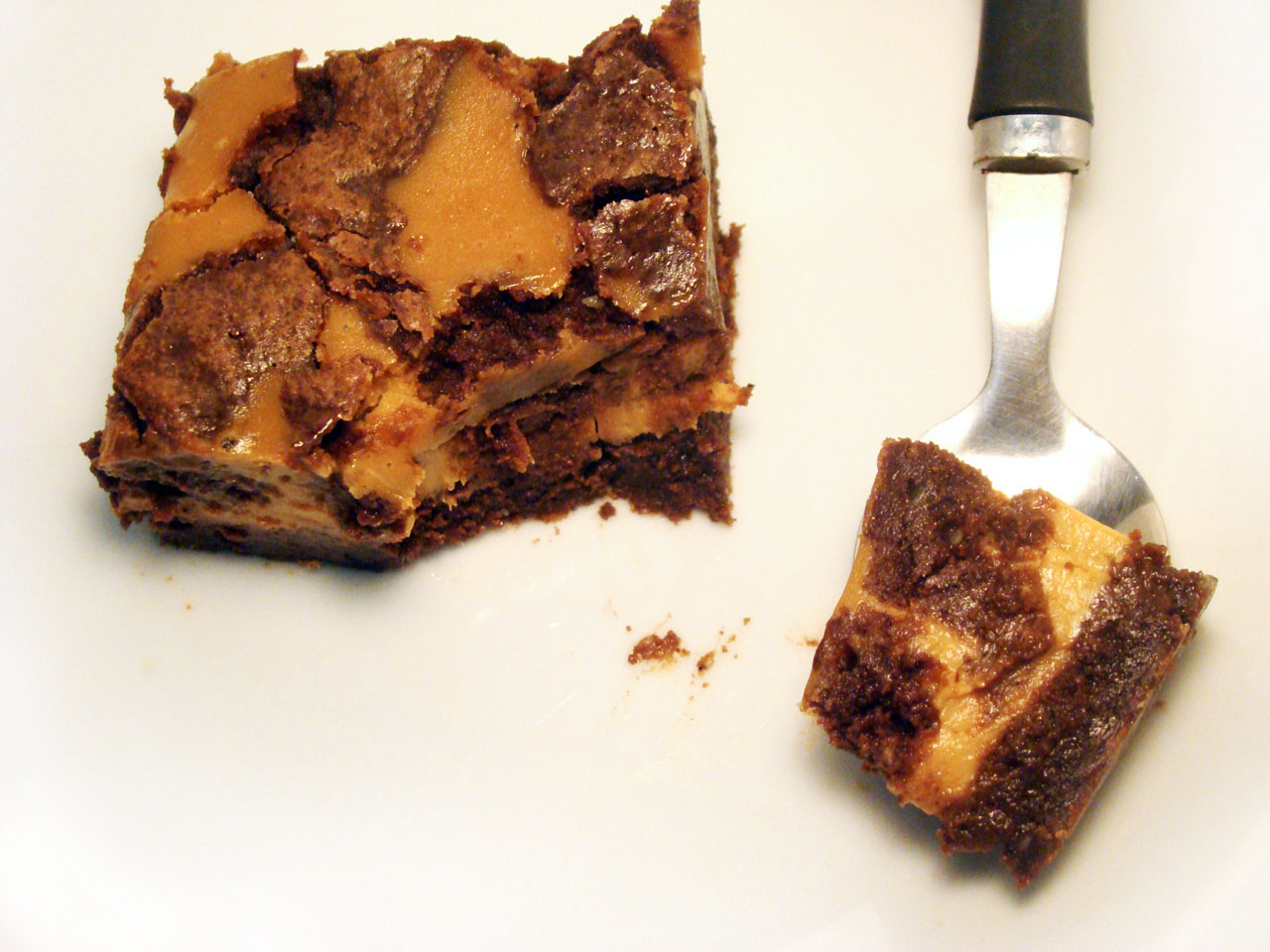 Brownie marmolado cheesecake dulce de leche