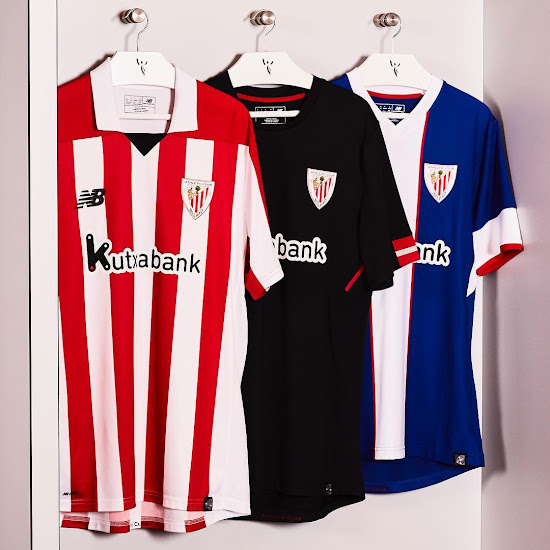 New Balance Athletic Bilbao 17 18 Home Away And Third