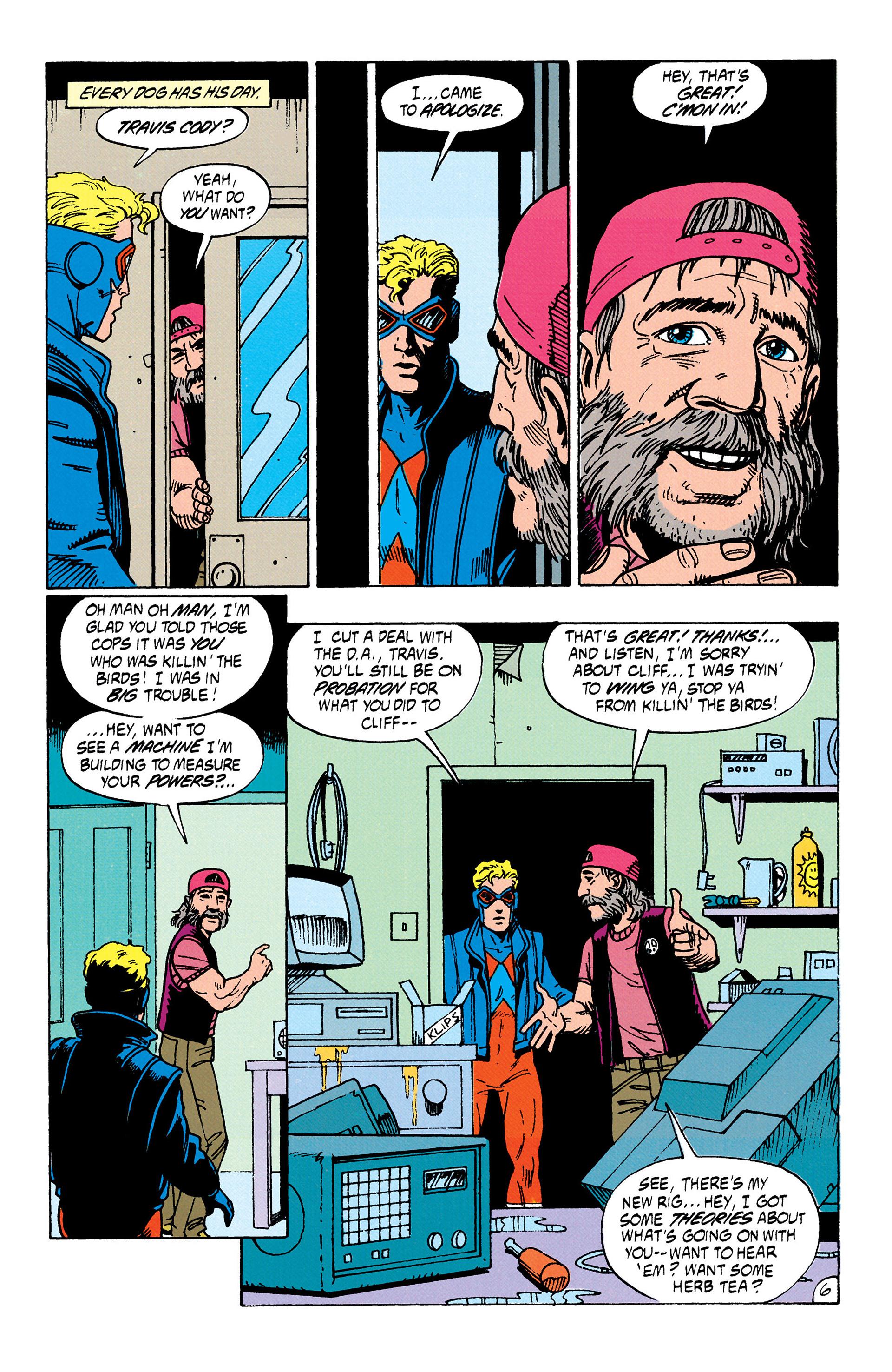Read online Animal Man (1988) comic -  Issue #35 - 7