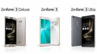 Keunggulan dan Spesifikasi Asus Zenfone 3, Deluxe, dan Ultra