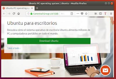 Ubuntu para escritorios