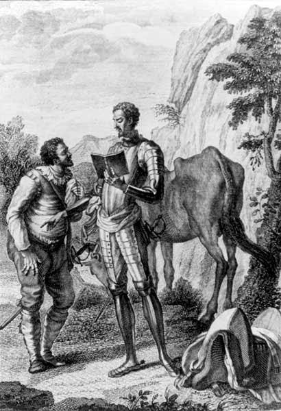 El legado de D. Quijote 2, Tomás Moreno, Ancile