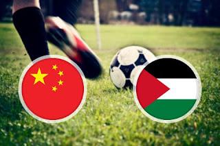 China vs Palestine live Streaming Today 20-11-2018 International Friendlies