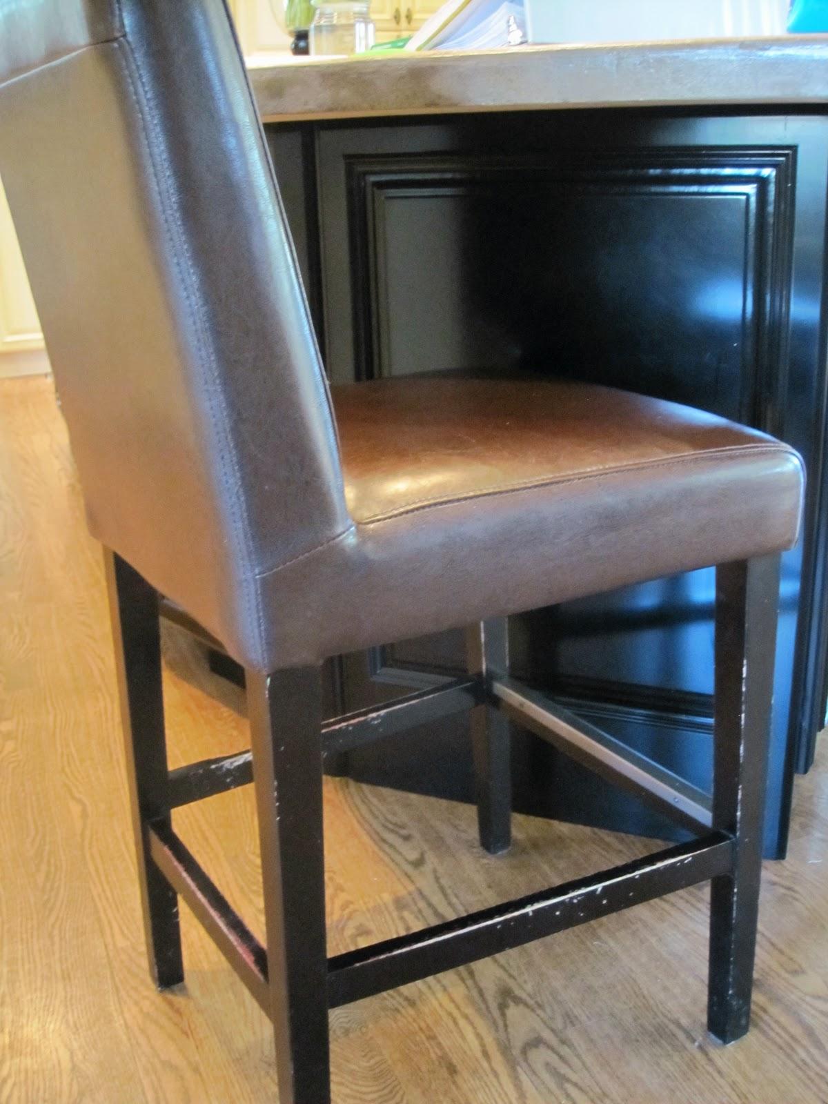 bar stool chair rung protectors diameter simple details barstool slipcover reveal