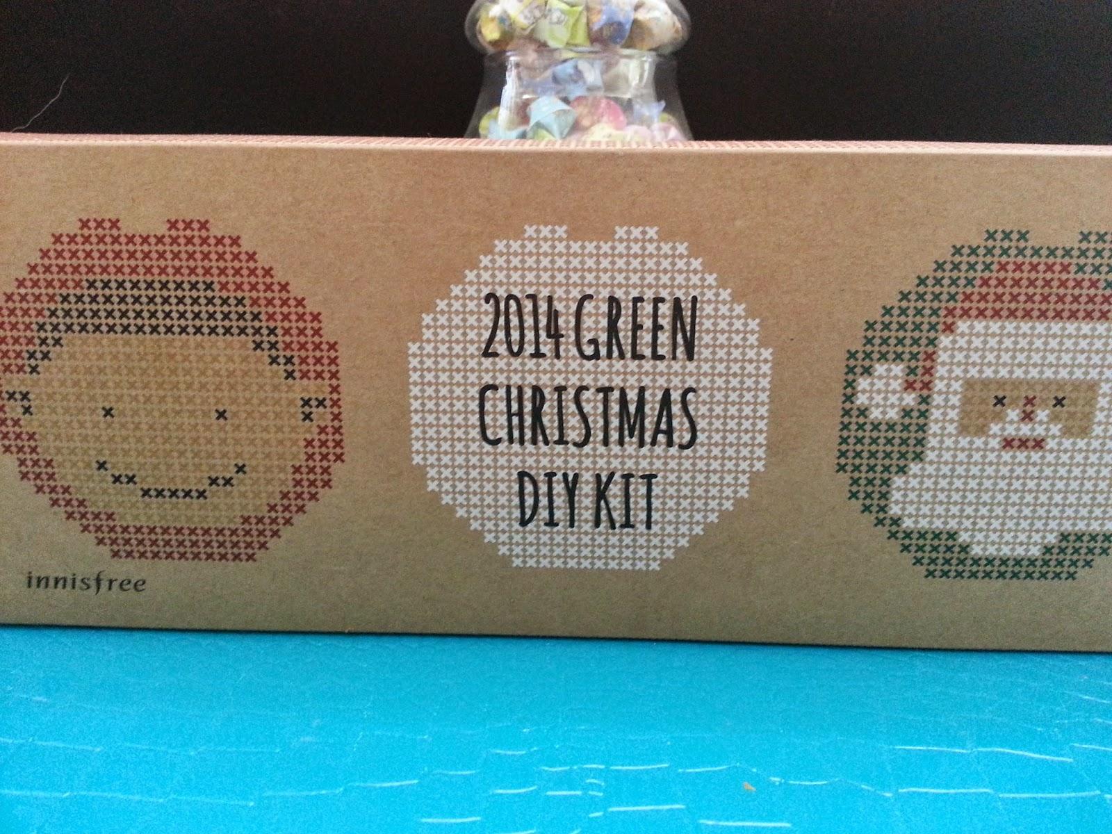 Innisfree Green Christmas DIY Kit - Ornament