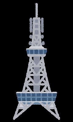 名古屋テレビ塔のイラスト