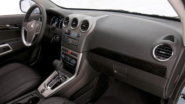 Conheça o Mundo dos Carros: Chevrolet Captiva perde motor