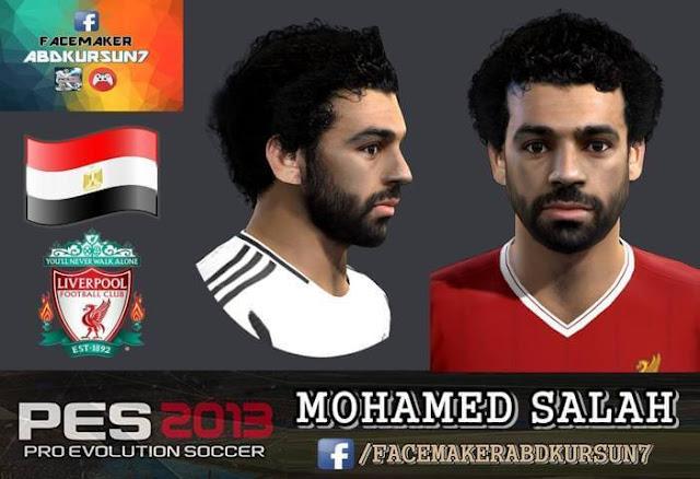 Mohamed Salah Face (Liverpool) PES 2013
