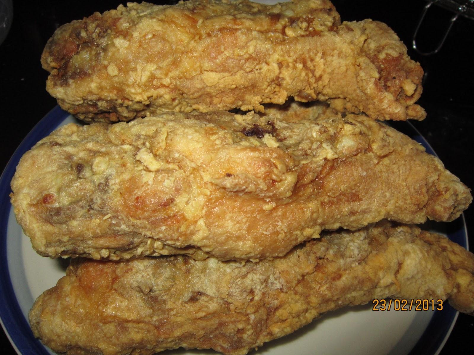 resepi cikgu ani rangka ayam goreng Resepi Ayam Goreng Serbuk Kari Enak dan Mudah
