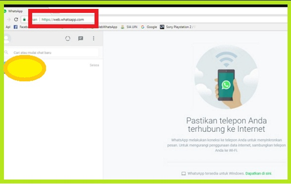 Cara Keluar Whatsapp Web Dari PC / Laptop