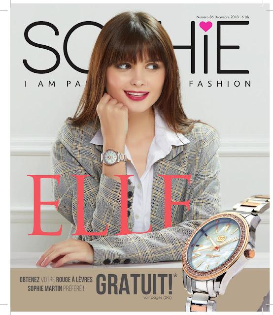 catalogue sophie paris maroc decembre 2018