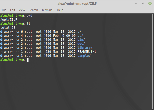 extracting exe in linux