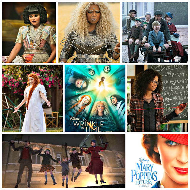 Disney  A Wrinkle in Time   Mary Poppins Returns