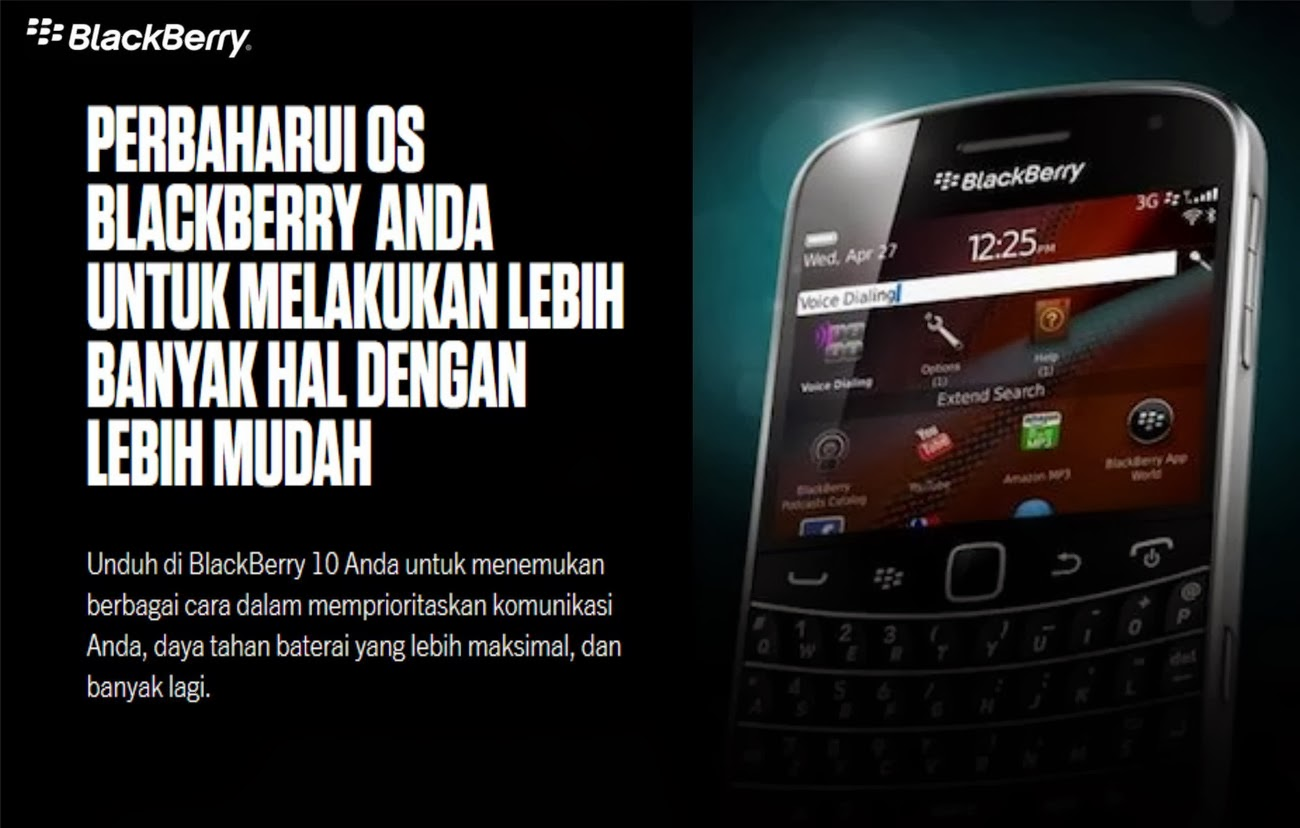 Cara Unduh OS atau Firmwre Blackberry