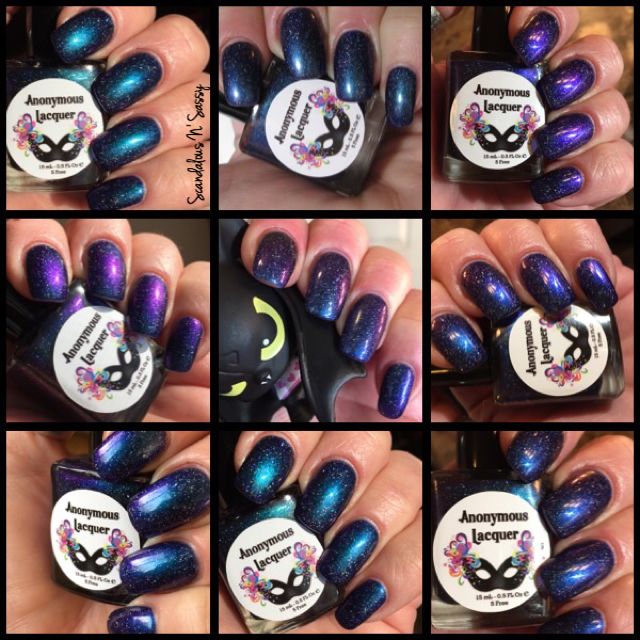 Anonymous Lacquer Third Eye Colour of Magik Collection Out & About