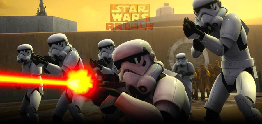 Trailer STAR WARS REBELS: Incepe Revolta Impotriva Imperiului Galactic