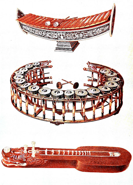 music instruments of Siam