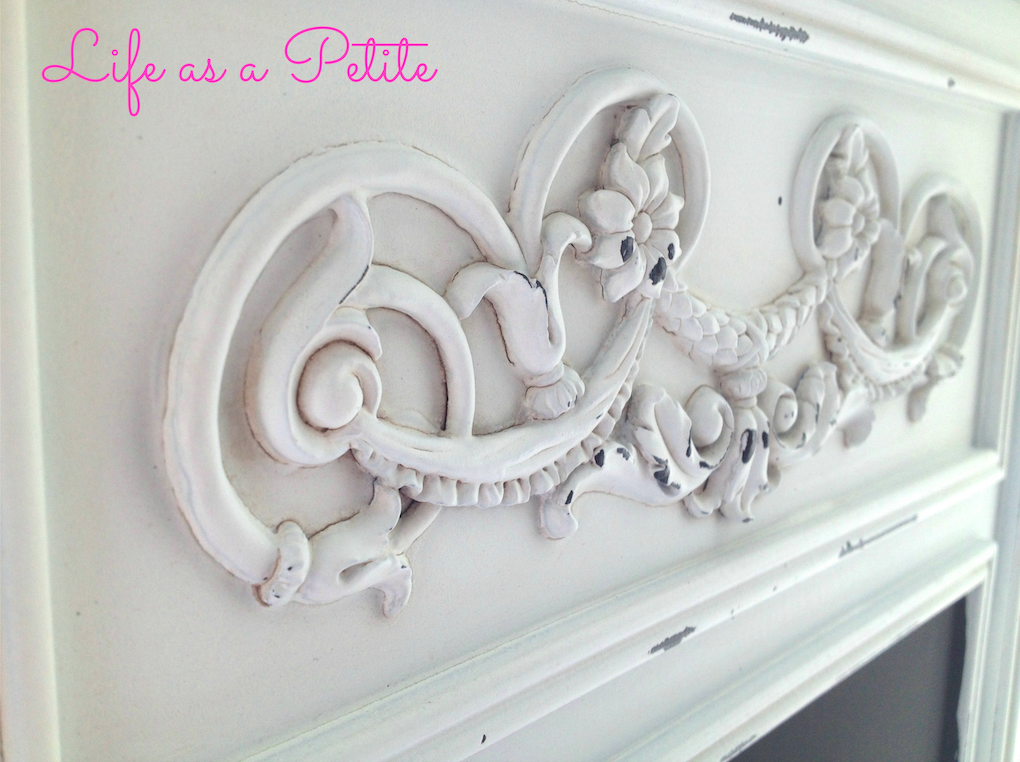 Shabby Chic Chalkboard | Life as a Petite