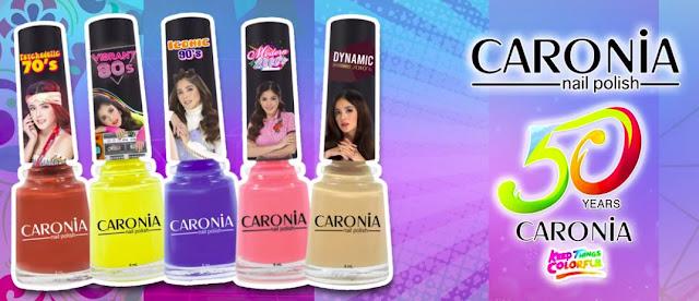 Manila Shopper Caronia Nail Polish Celebrates Its 50th